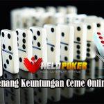 Peluang Menang Keuntungan Ceme Online Uang Asli